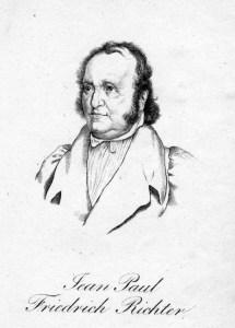 Den Sommer 1819 verbrachte der bekannte Dichter Jean Paul in Löbichau als Gast der Herzogin von Kurland.
