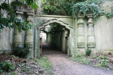 Highgate Cemetery in London – Alter Friedhof