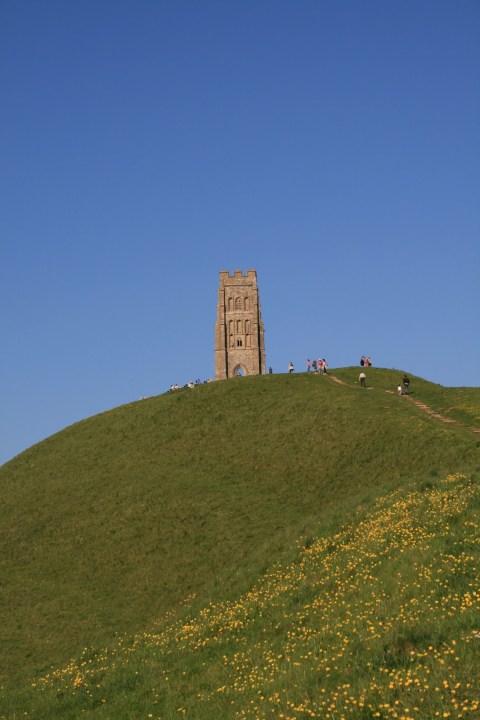 Glastonbury Tor Avalon England Artus
