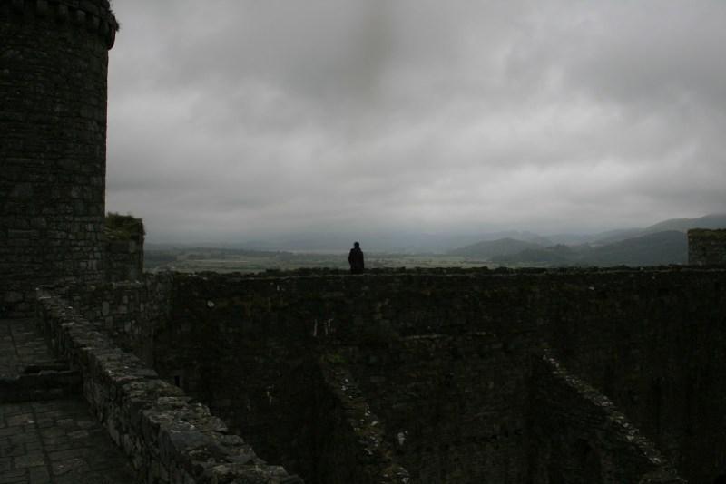 harlech castle William turner Wales