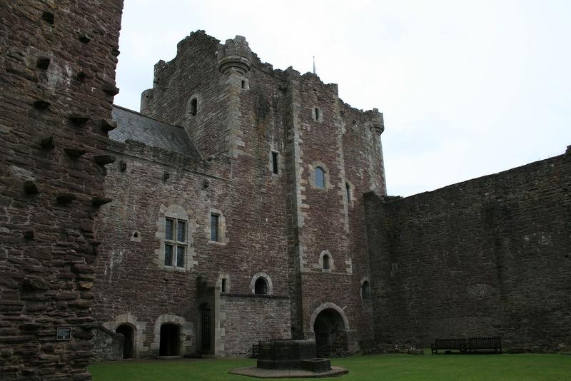 Doune Castle Monty Python Ritter der Kokosnuss Burg Burg Leoch Outlander Diana Gabaldon