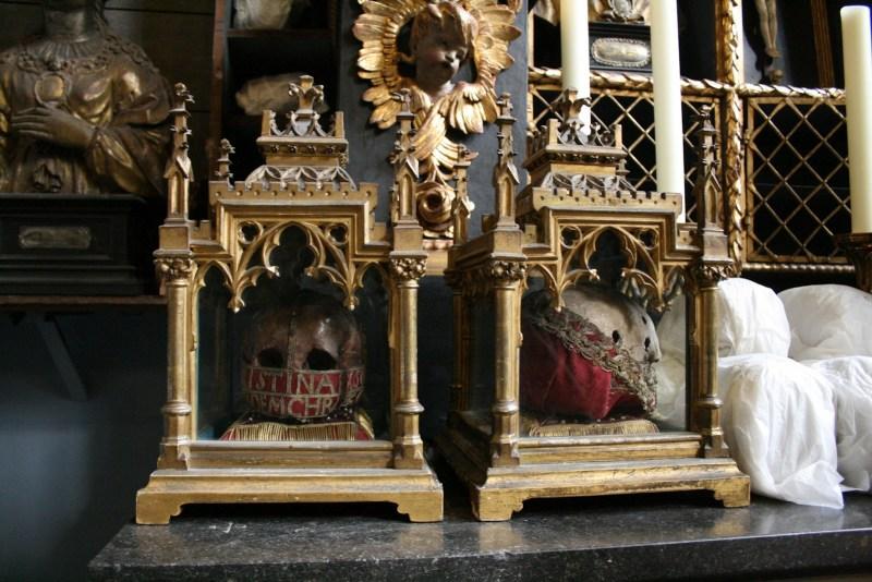 St. Ursula Knochenkirche Knochen Kirche Gebeine Köln
