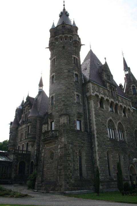 Schloss Moszna Moschen Schlesien