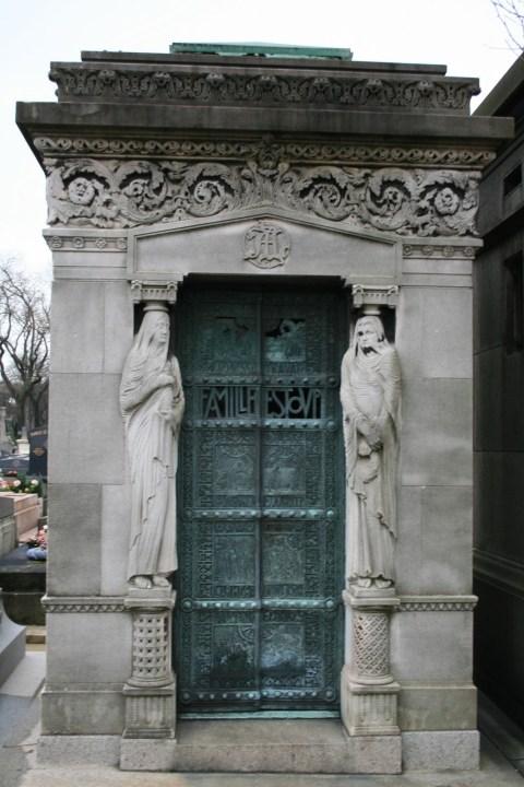 Cimetiere Pere Lachaise Friedhof Paris Chopin Balzac Rossini