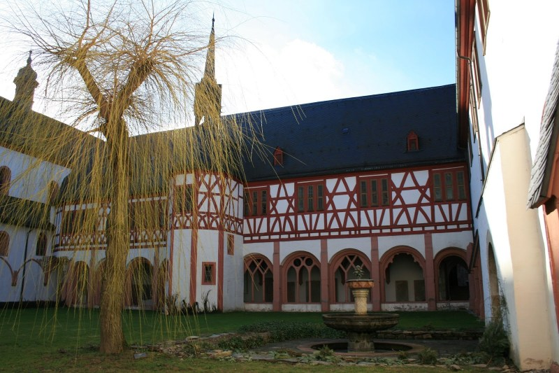 Kloster Eberbach, Filmlocation Name der Rose