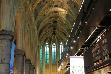 Eine der schönsten Buchhandlungen der Welt – Polare in Maastricht