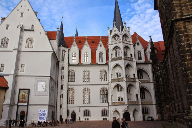 Meissen Burg Albrechtsburg