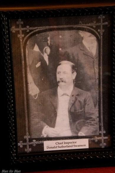Inspektor Swanson, Robert C. Marley, englisches Kriminalmuseum, Kriminalmuseum in Lemgo