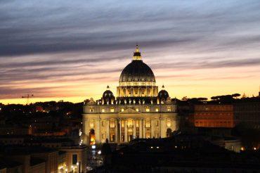 Unterirdische Katakomben von Rom