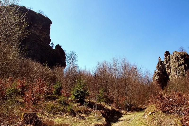 Goldstein und Ravenstein, Bruchhauser Steine im Sauerland