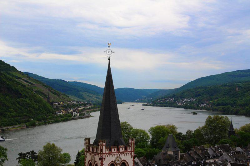 Rhein in Bacharach