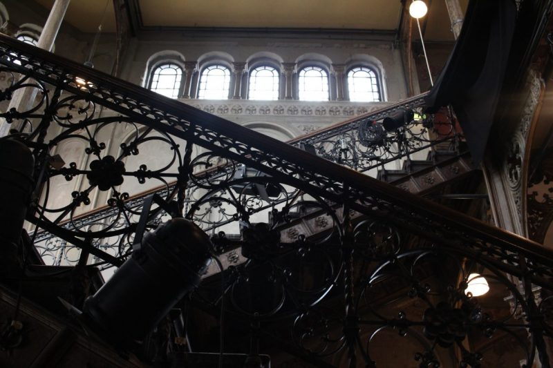 Treppenhaus der Cumberlandschen Galerie, Theater Hannover