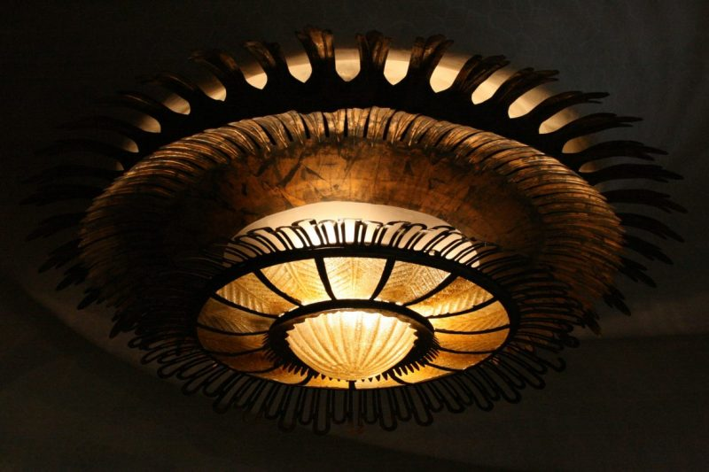 Lampe von Antoni Gaudi