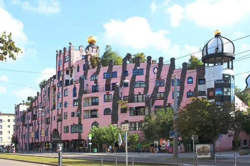 Hundertwasser in Ostdeutschland, Magdeburg