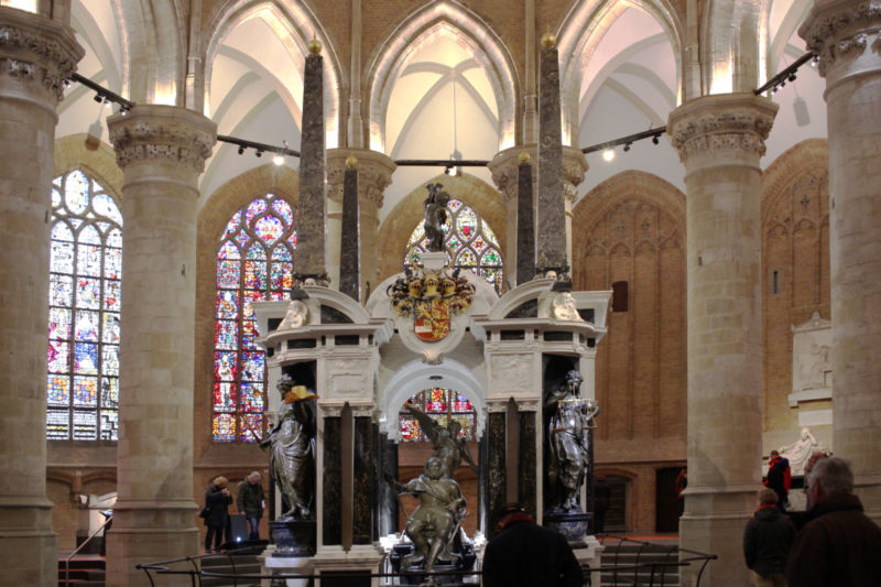 Sehenswerte Kirche von Delft, Grab Wilhelm von Oranien, Mausoleum der Oranier