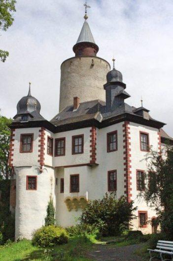 Renaissance Schloss in Thüringen, Burg Posterstein, Burg in Thüringen, Burg in Sachsen