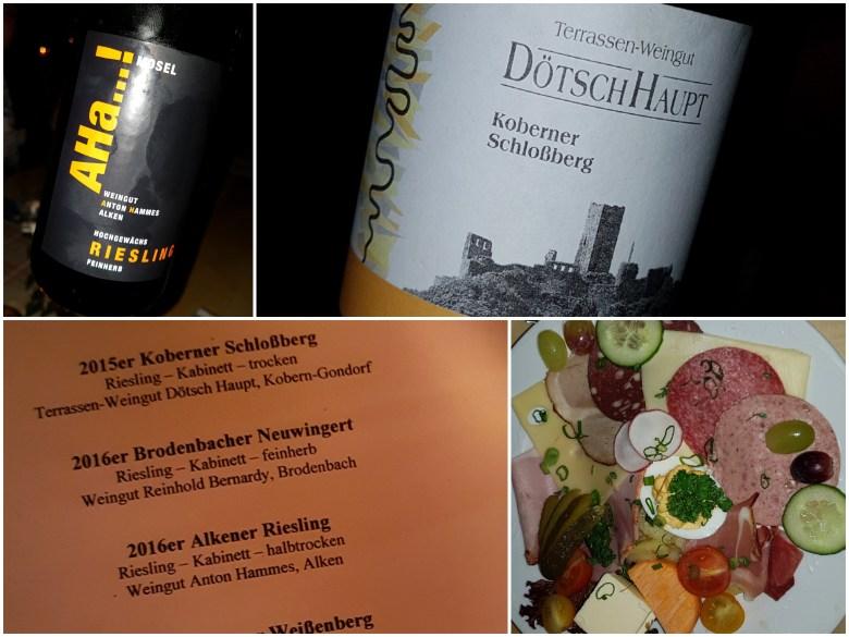 Riesling-Weinprobe, Urlaub an der Mosel, Weinprobe im Hotel Anker, Brodenbach