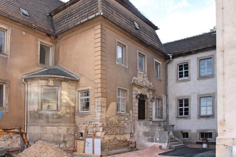 Gutshof Burgwerben, Schlösser Sachsen-Anhalt, Saale-Unstrut