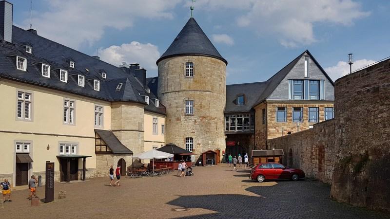 Hotel Schloss Waldeck, Museum Schloss Waldeck, Burg der Grafen von Waldeck