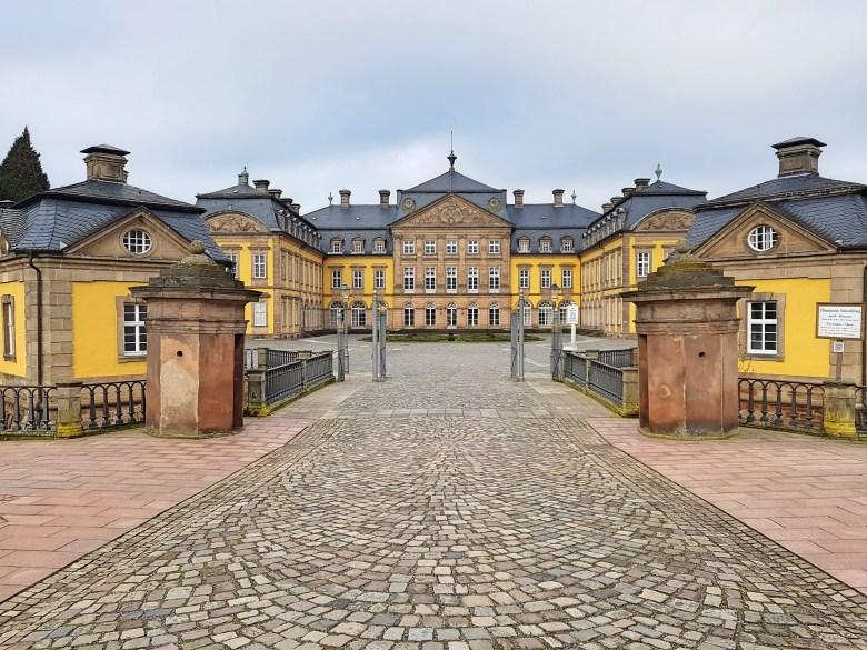 Schloss Arolsen, Barockschloss, Fürsten von Waldeck und Pyrmont