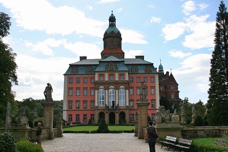 Schloss Fürstenstein in Waldenburg, Schloss Ksiaz, Schloss in Schlesien