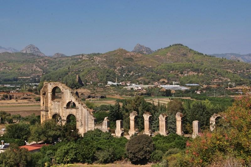 Sehenswürdigkeiten bei Side, römische Ruinen bei Side
