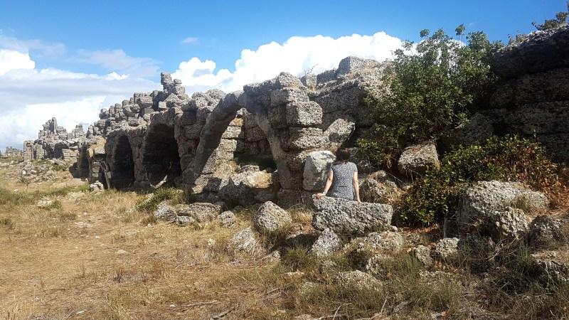 Side Sehenswürdigkeiten, Ruinen in der Türkei