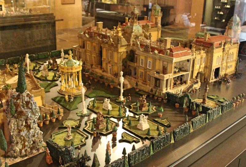Rokoko en miniature, Heidecksburg, Rokoko, Barockmodel