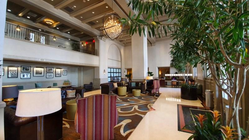 Klassisches Hotel in Louisiana. Luxushotel in Baton Rouge