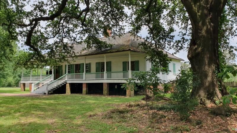 Plantage in Baton Rouge, Kreolische Plantage, Plantage in den Südstaaten