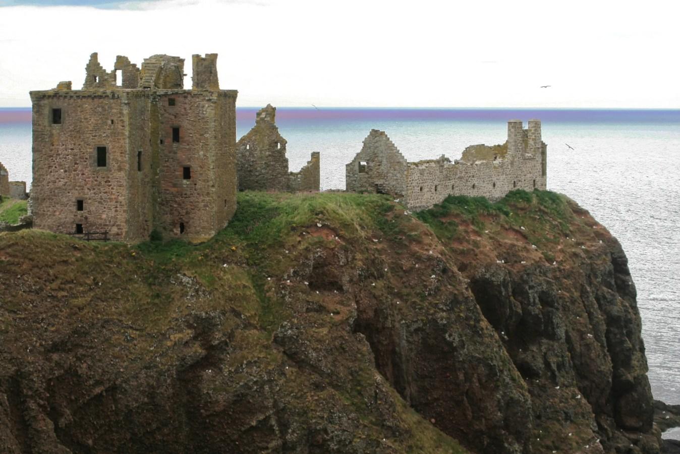 Gruselige Burgen in Schottland, schottische Geisterburgen, Burgruinen Schottland