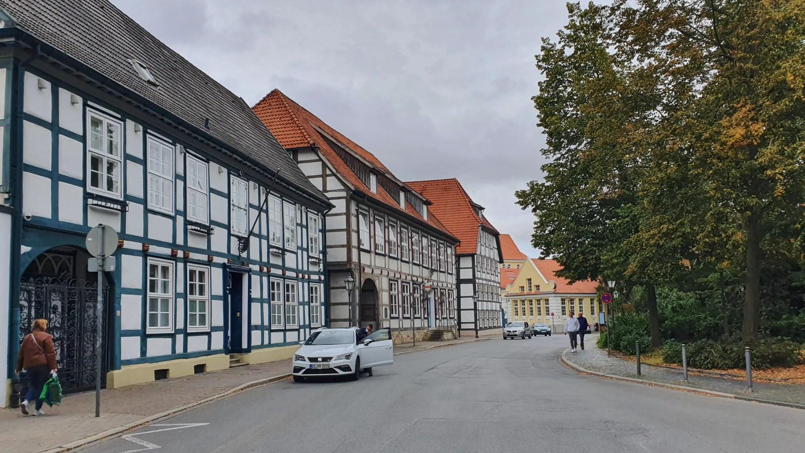 Sehenswürdigkeiten von Herford, Teutoburger Wald, Altstadt von Herford, Fachwerk in Ostwestfalen
