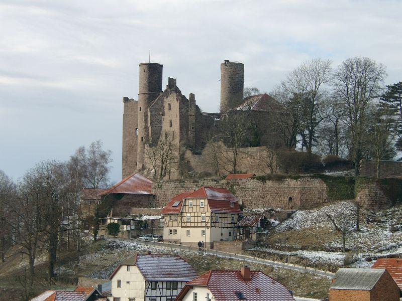 Burg Hanstein  Restaurant Hotel Standesamt  37318 Bornhagen
