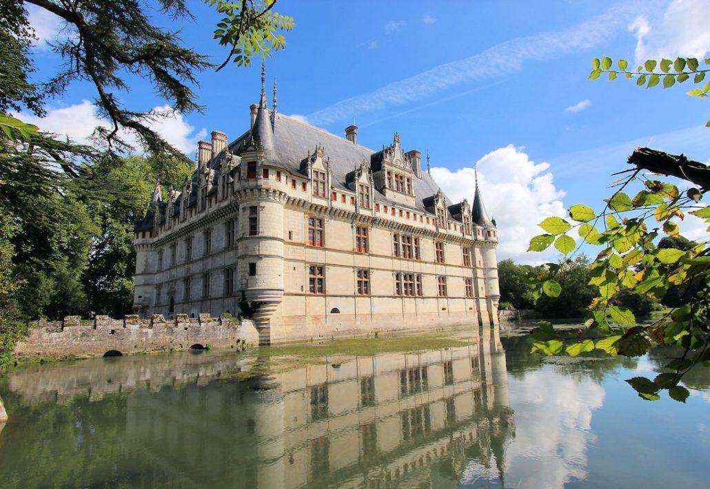 Schloss Azay Le Rideau Frankreich