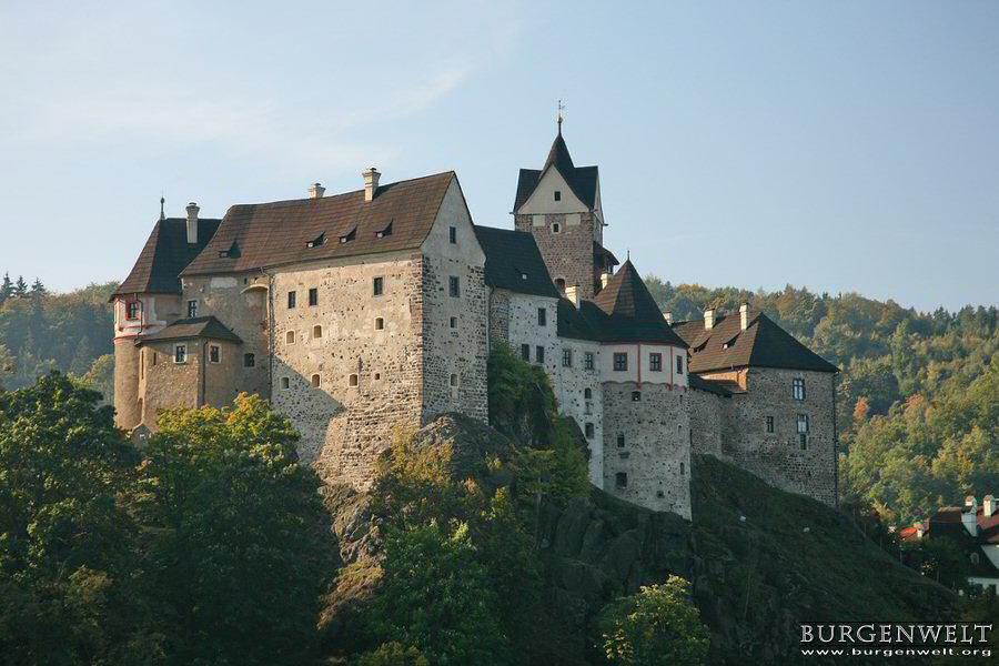Burgenwelt  Burg Elbogen  Tschechien