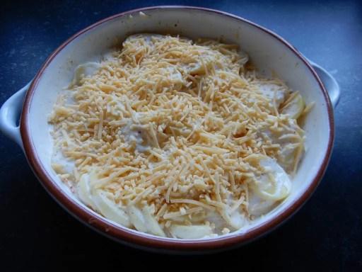 aardappelgratin zonder pakjes en zakjes recept zelf maken