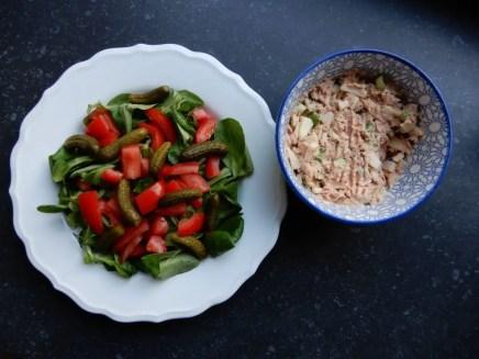 maaltijdsalade met tonijn, recept burgertrutjesNL