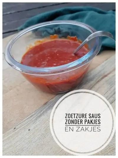 Recept zoetzure saus zoals bij de Chinees. Lekker met babi pangang, foe yong hai of een ander lekker gerecht. Zonder pakjes en zakjes
