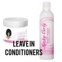 Curly girl methode leave-in conditioners