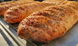 Subway broodjes recept zelf maken parmezaanse kaas en oregano