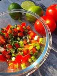 Recept pico de gallo mexiaanse salsa