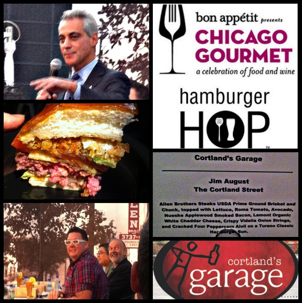 Cortlands Garage  Burger Weekly
