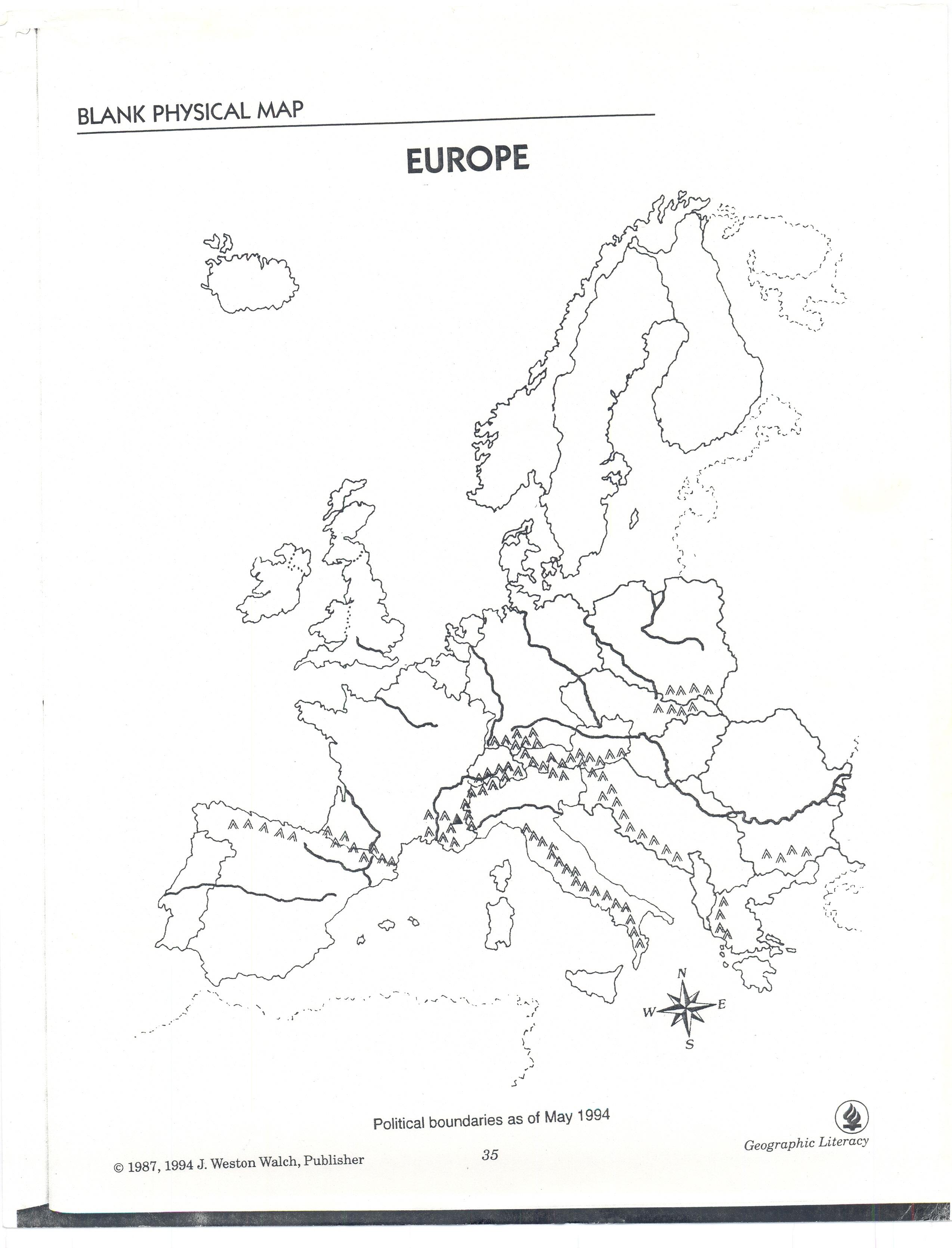 Dengel, Heather / Map Info.