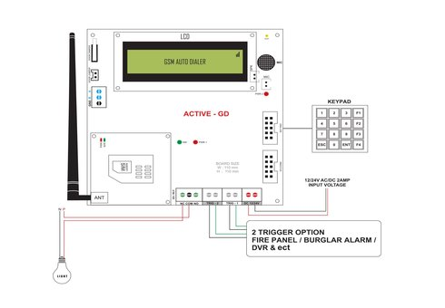 Burglar Alarm Systems, Home Alarm Systems Wiring Diagram ATSS