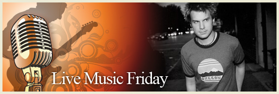 Live Music Friday - Howie Day
