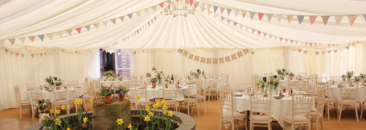 Wedding Marquee Hire From Burgoynes Marquees