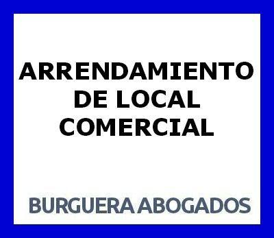 ARRENDAMIENTO DE LOCAL COMERCIAL
