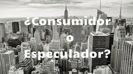 Verbraucher der Spekulant