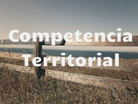 competencia territorial
