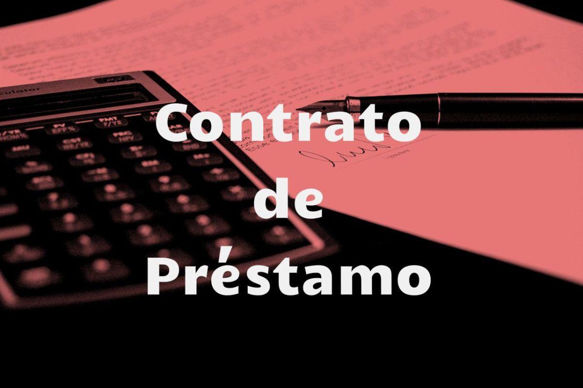 contrato de prestamo